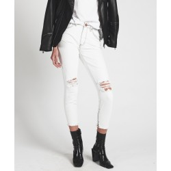 Jeans Coconut Freebirds Skinny Oneteaspoon