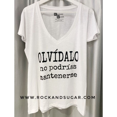 Camiseta Olvídalo