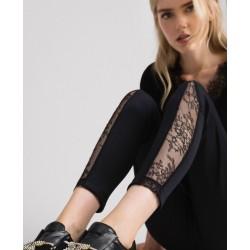 Leggings con encaje