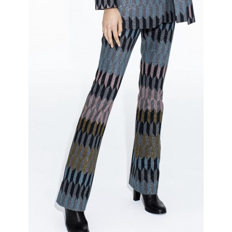 Pantalón geoprint glitter