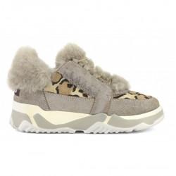 Mou Eskimo lace up trainer shoe