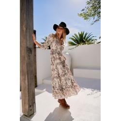 Soul Print Maxi dress