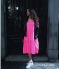 Vestido/falda larga flúor