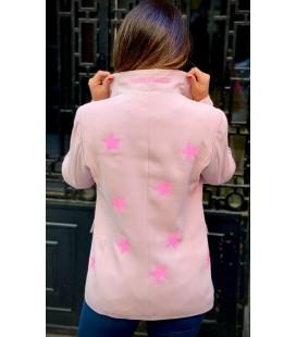 Blazer rosa star