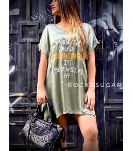 Vestido verde AF