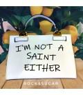 Bolso not a saint